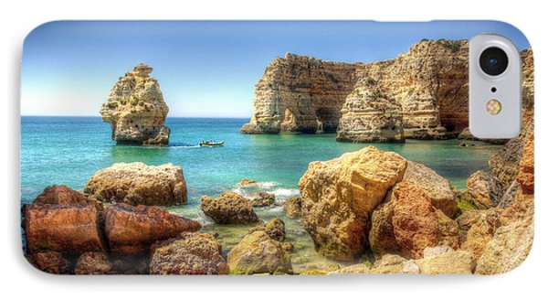 Hdr Rocky Coast Phone Case by Carlos Caetano