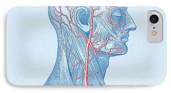 Head Veins Phone Case by Mehau Kulyk