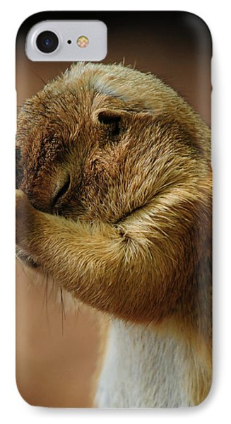 Headache IPhone Case by Mike Martin