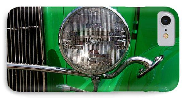 Headlight Phone Case by Vivian Christopher