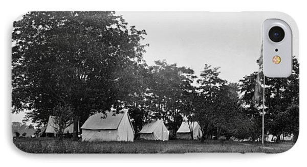 Headquarters - Army Of The Potomac - Fairfax Courthouse Virginia 1863 Phone Case by International  Images
