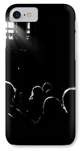 Heads Looking For Light Black And White IPhone Case