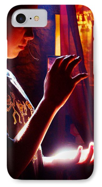 IPhone Case featuring the photograph Healing Hands by Susanne Still