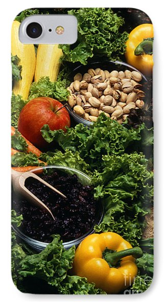 Healthy Foods Phone Case by Photo Researchers
