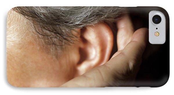 Hearing Loss Phone Case by Cristina Pedrazzini