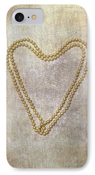 Heart Of Pearls Phone Case by Joana Kruse