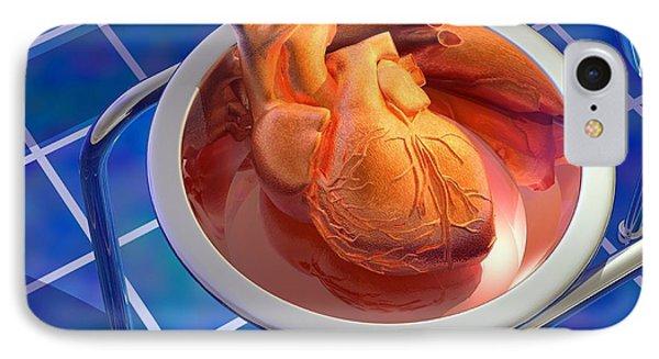 Heart Surgery, Artwork Phone Case by Laguna Design