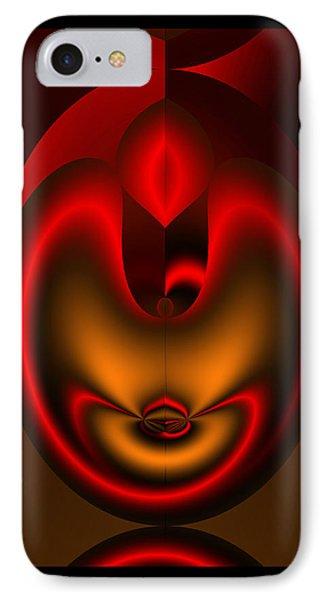 IPhone Case featuring the digital art Hearts Desire by Vicki Pelham