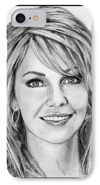 Heather Locklear In 2005 IPhone Case by J McCombie