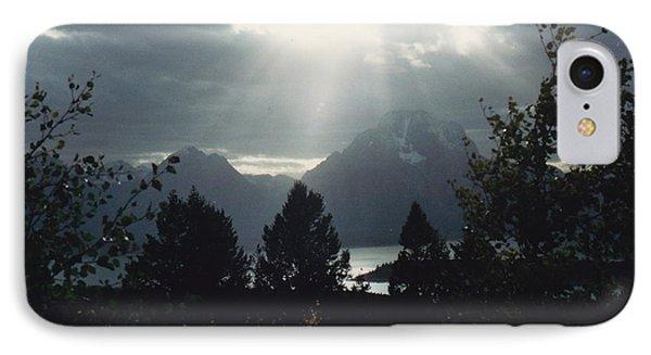 Heavenly Rays Phone Case by Barbara Plattenburg