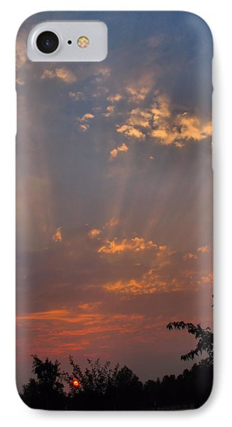 Heavenly Rays Phone Case by Joyce Dickens