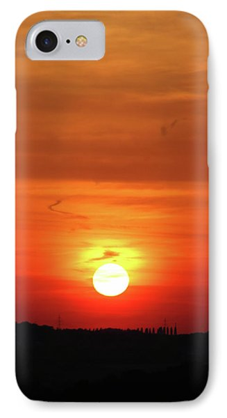 Heavenly Sunset Phone Case by Mariola Bitner