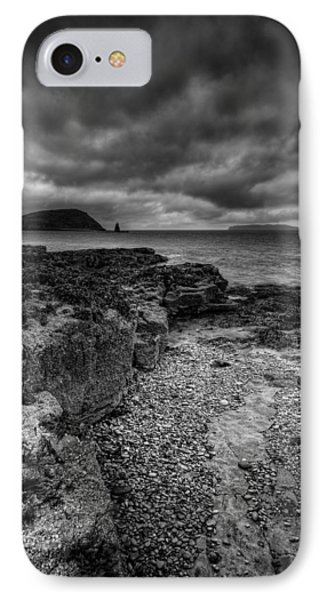 Heavy Sky In Monochrome Phone Case by Andy Astbury