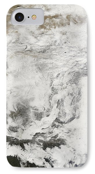 Heavy Snowfall In China Phone Case by Stocktrek Images