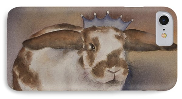 Helicop Lop Rabbit  IPhone Case by Teresa Silvestri