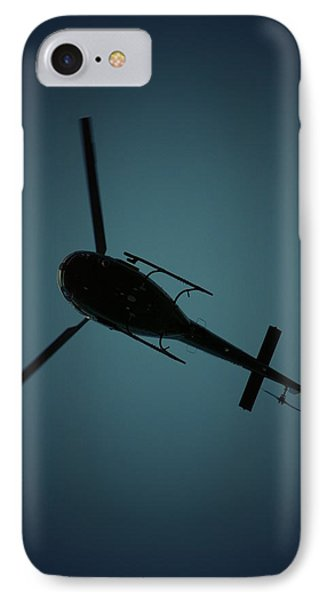 Helicopter Silhouette IPhone Case