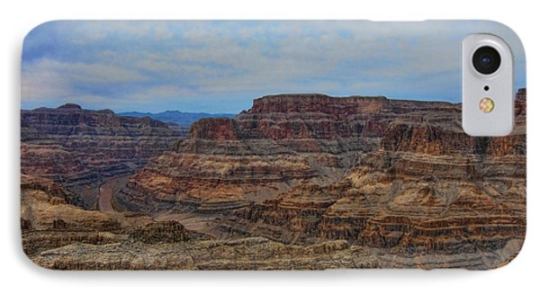 Helicopter View Of The Grand Canyon Phone Case by Douglas Barnard
