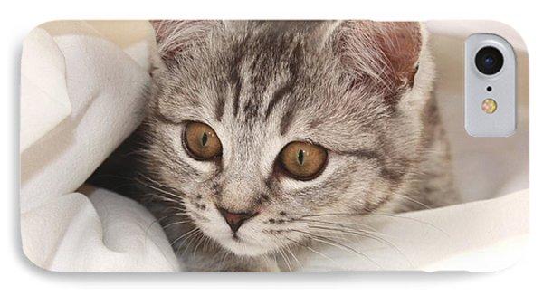 Hello Kitten Phone Case by Claudia Moeckel
