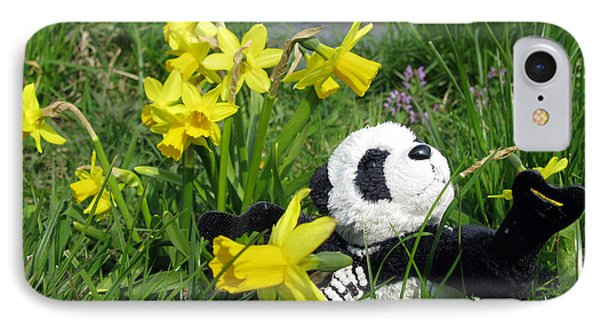 Hello Spring. Ginny From Travelling Pandas Series. Phone Case by Ausra Huntington nee Paulauskaite