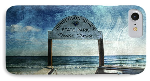 Henderson Beach State Park Florida Phone Case by Susanne Van Hulst