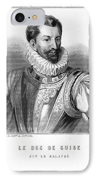 Henri I, Duc De Guise IPhone Case by Granger