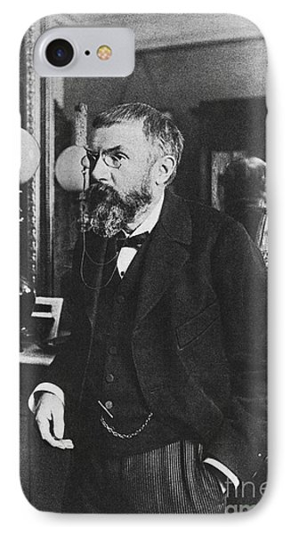 Henri Poincare, French Polymath Phone Case by Science Source