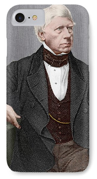Henry Brougham, Scottish Lawyer Phone Case by Sheila Terry