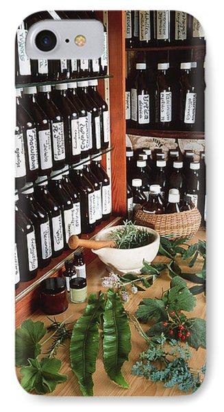 Herbal Pharmacy Phone Case by Tek Image