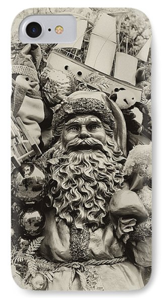 Here Comes Santa Claus Phone Case by Bill Cannon