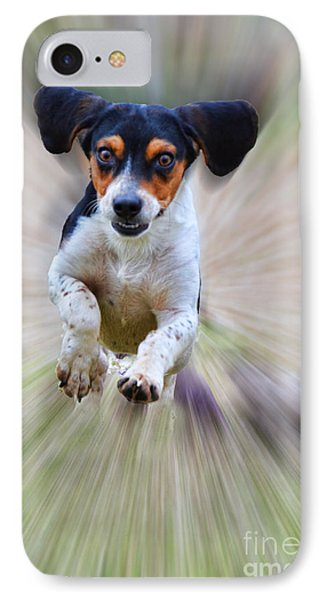 Here I Come Phone Case by Debbie Portwood