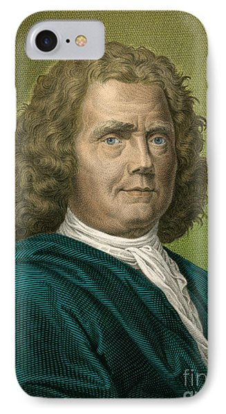Herman Boerhaave, Dutch Physician Phone Case by Science Source