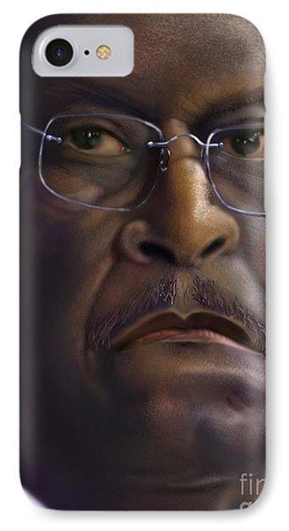 Herman Razing Cain IPhone Case