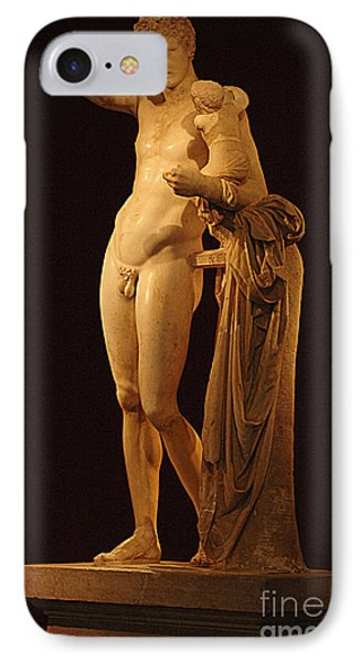 Hermes And The Infant Phone Case by Bob Christopher