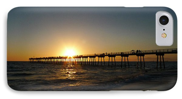 Hermosa Beach Sunset IPhone Case by Nina Prommer