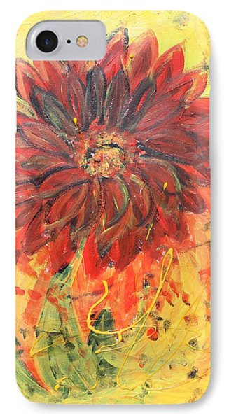 IPhone Case featuring the painting Hey Babe by Sladjana Lazarevic