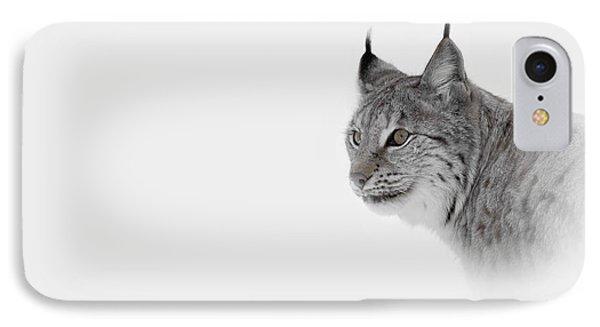 Hi Key Lynx IPhone Case by Andy Astbury