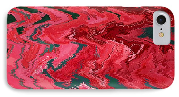 Hibiscus Abstract IPhone Case by Carol Groenen