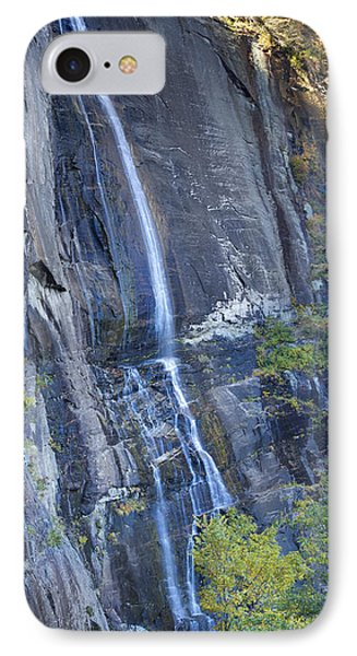 Hickory Nut Falls Chimney Rock State Park IPhone Case by Dustin K Ryan