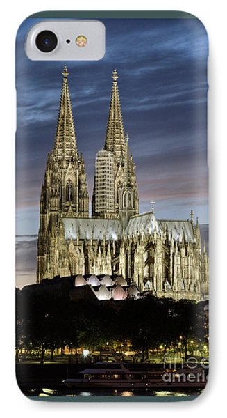High Cathedral Of Sts. Peter And Mary In Cologne Phone Case by Heiko Koehrer-Wagner