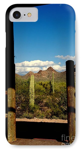 High Chaparral Old Tuscon Arizona  Phone Case by Susanne Van Hulst