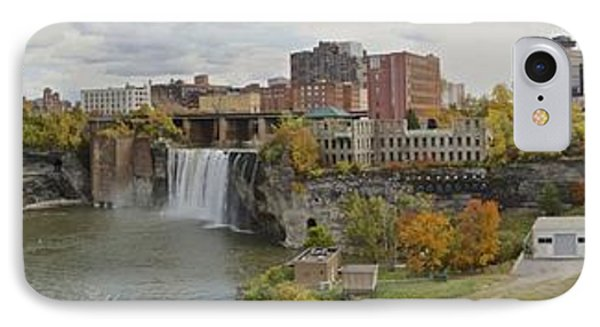 IPhone Case featuring the photograph High Falls Panorama by William Norton