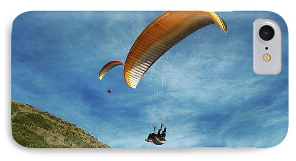 IPhone Case featuring the photograph High Flyers by Lorraine Devon Wilke