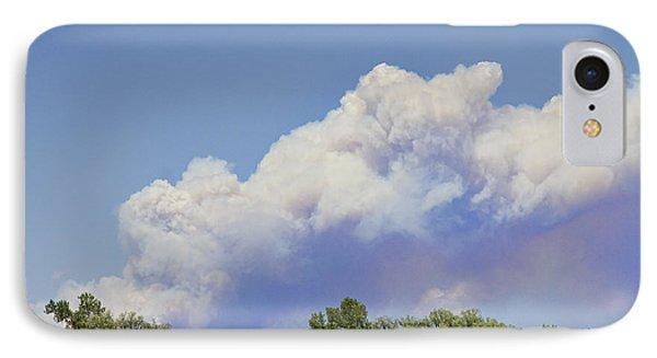 High Park Fire Larimer County Colorado  IPhone Case