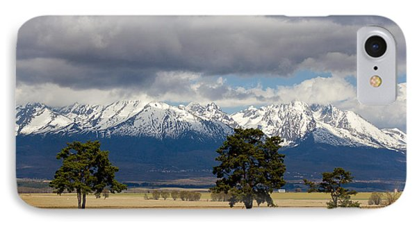 IPhone Case featuring the photograph High Tatras - Vysoke Tatry by Les Palenik