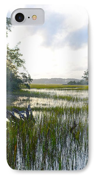 IPhone Case featuring the photograph High Tide by Margaret Palmer