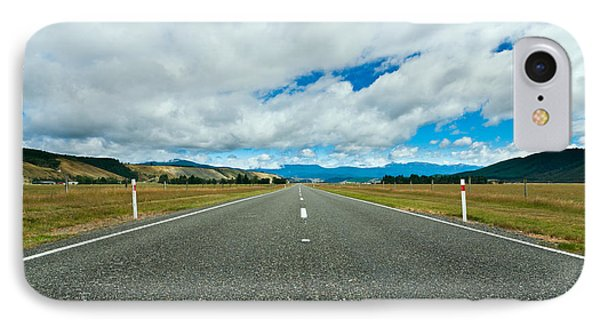 Highway Through The Countryside  Phone Case by Ulrich Schade