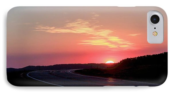 Highway To The Sky IPhone Case
