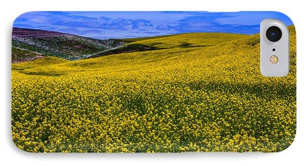 Hills Of Canola IPhone Case