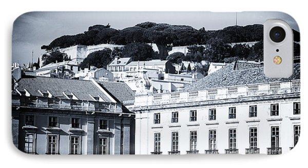 Hills Of Lisbon Phone Case by John Rizzuto