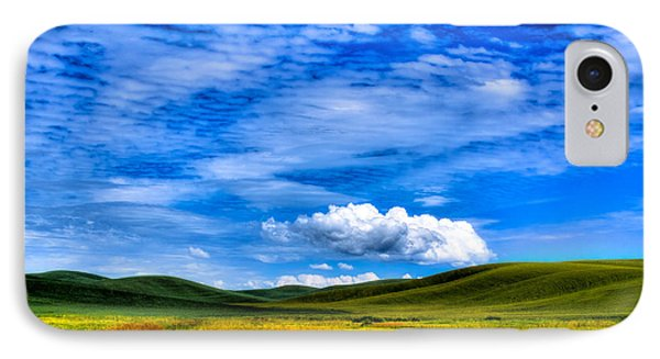 Hills Of Wheat In The Palouse Phone Case by David Patterson